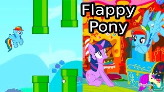 My Little Rainbow Dash Flappy Pony + Horse Racing - Let's Play Online Games - Honeyheartsc