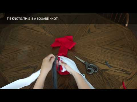 how-to-make-a-fleece-rope-dog-toy