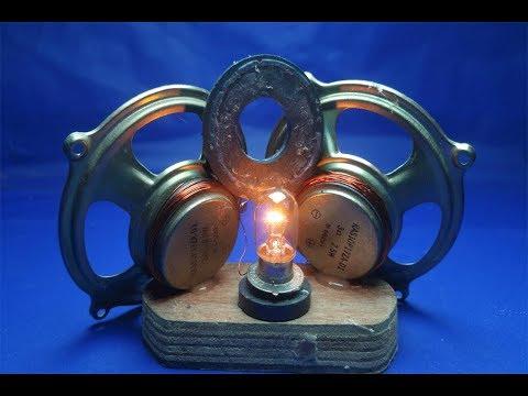 Free Energy Light Bulbs 12v With Speaker