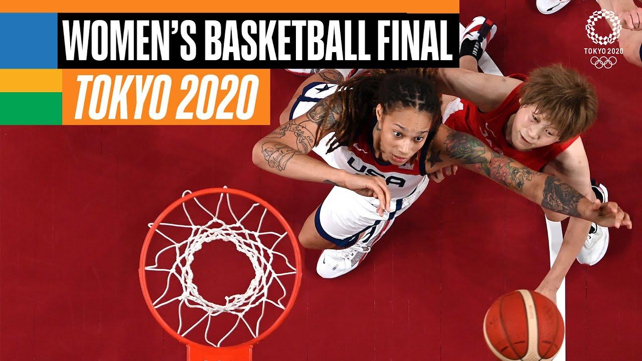 Download USA 🇺🇸 vs Japan 🇯🇵 | Women's  Basketball Gold Medal Match | Tokyo Replays