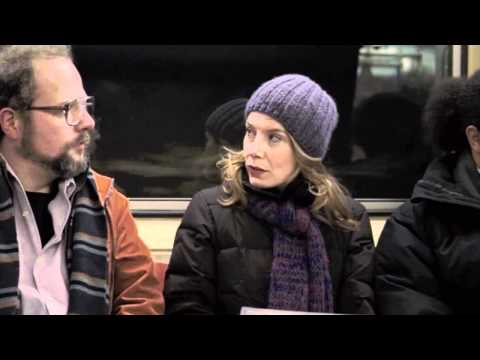 Amy Ryan Handles a Creep on the Subway