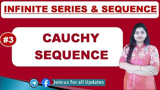 Cauchy Sequence in hindi with example (Part 3  with proof)