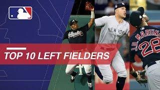 Martinez, Stanton headline Top 10 left fielders right now