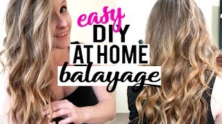 EASY DIY AT HOME BALAYAGE   MADISON REED LIGHT WORKS