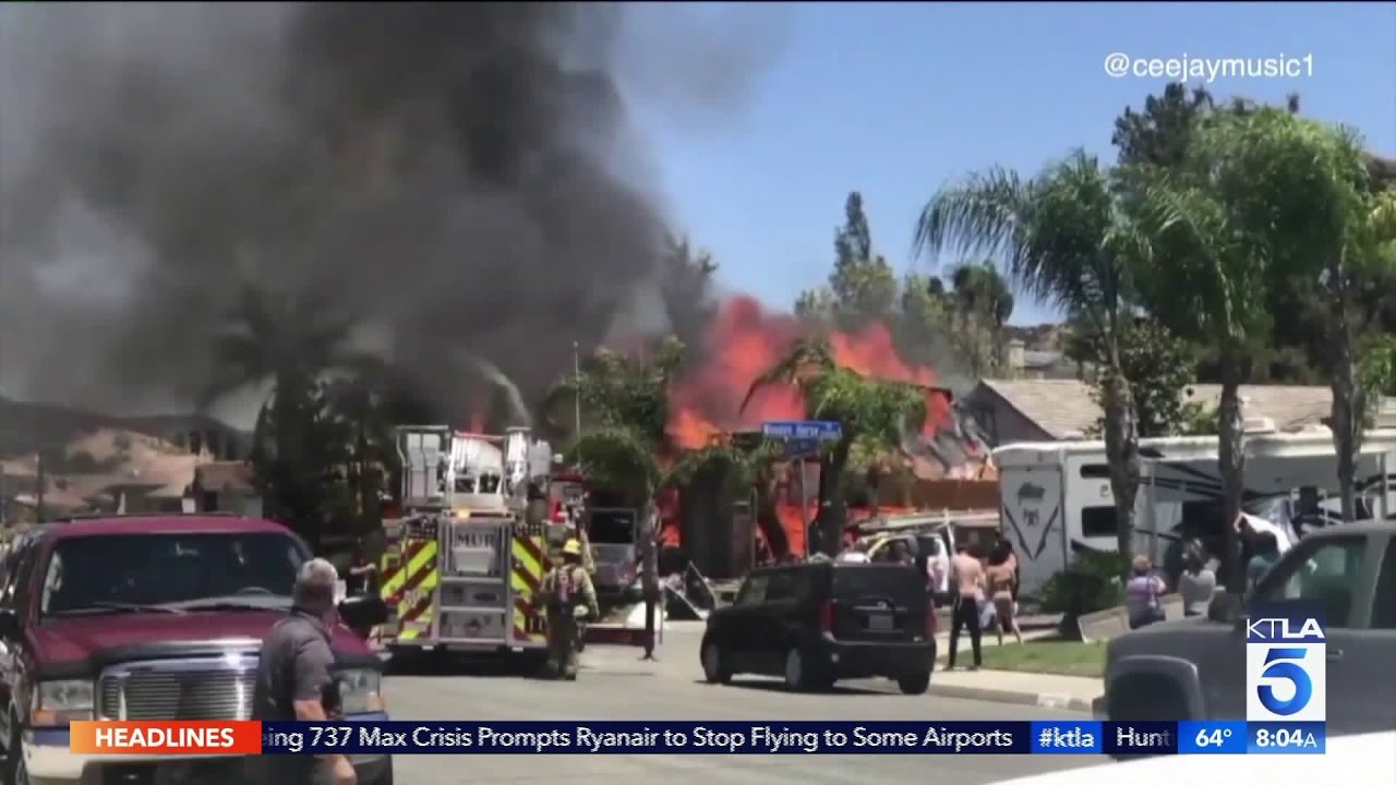 4 Homes Red-Tagged After Murrieta Gas Explosion