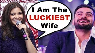 Anushka Sharma BLUSHES While Talking About Virat Kohli