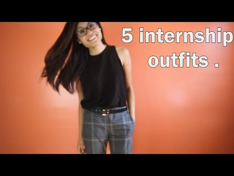 What to Wear: Internships (OFFICE CASUAL)