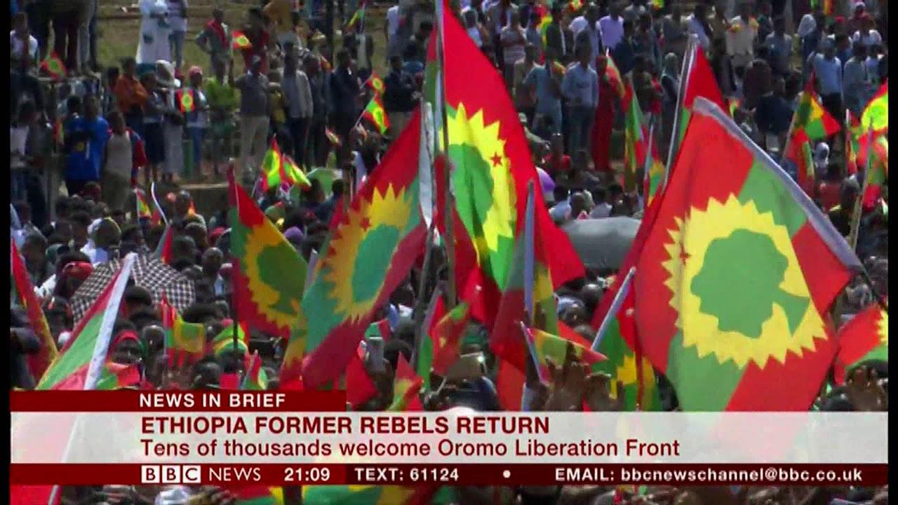 Oromo Liberation Front returns (Ethiopia) - BBC News - 15th September 2018