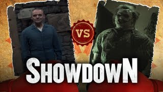 Hannibal Lecter vs. Leatherface - Who Is the Scarier Serial Killer? Showdown HD
