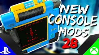 Fallout 4 : ▶️BRAND NEW CONSOLE MODS◀️ #28 (PS4/XB1/PC)