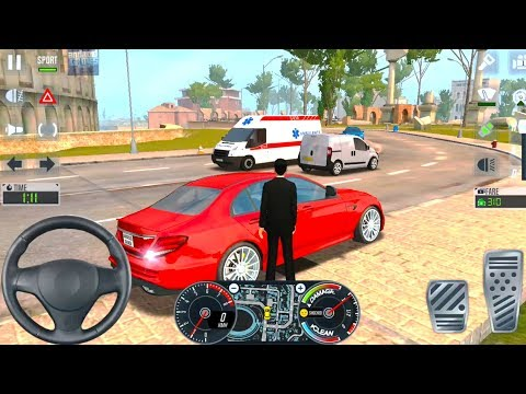 Uber Driver Simulator 2020 - Luxury Mercedes Taxi - Android iOS Gameplay