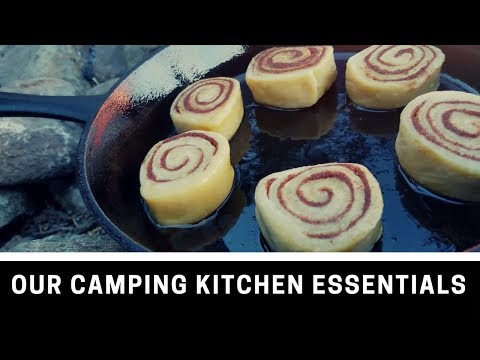 Our Camping Kitchen Essentials