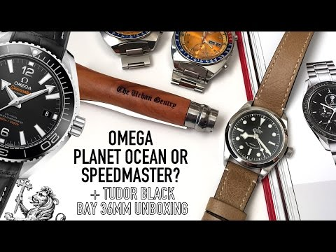 Omega Planet Ocean 39.5mm Or Speedmaster? + Tudor Black Bay 36mm & A 2nd Seiko Pogue Unboxing!