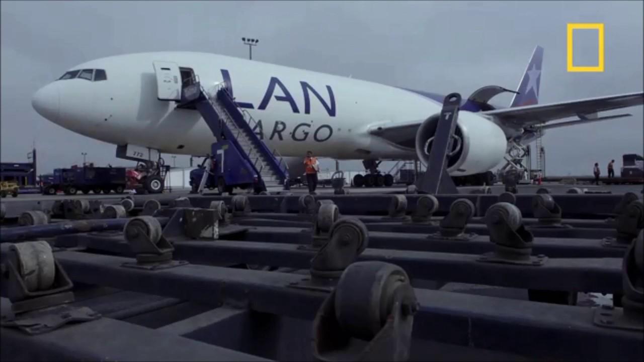 Logística Aérea Espárragos Perú