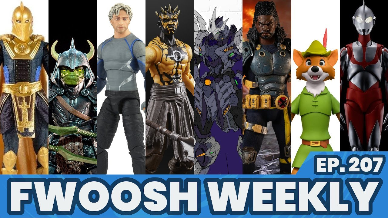 Weekly! Ep207: Star Wars, Marvel Legends, Disney, Mythic Legions, My Hero Academia, Mezco and more!