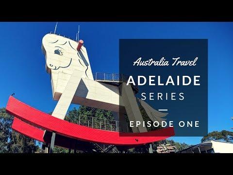 AUSTRALIA TRAVEL VLOG | Adelaide Here I Come!