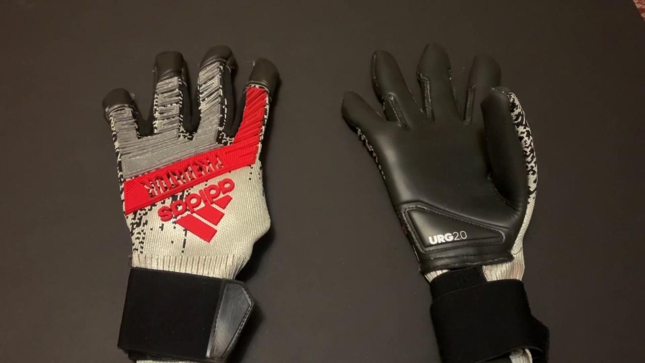 Oclusión El diseño protesta  Adidas Predator Hybrid Pro- El guante de ter Stegen, Casillas y Kepa -  YouTube