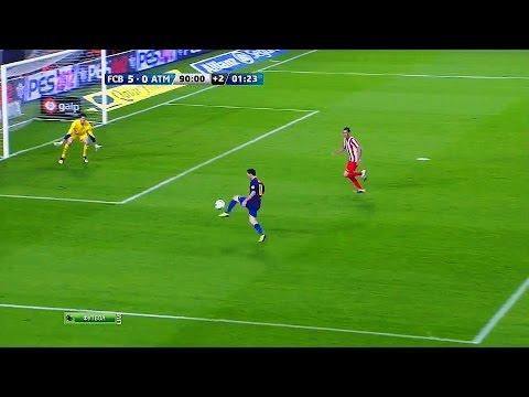 The Inventor of Goalkeeper Nutmegs  ► Messi Nutmegging Goalkeepers    HD  
