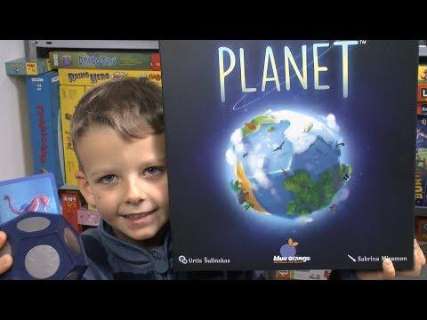 Planet (Blue Orange
