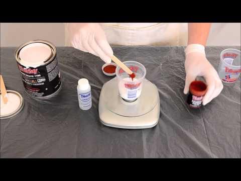 Adding Pigment to Gel Coat or Fiberglass Resin