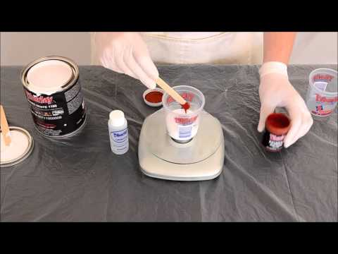 Adding Pigment to Gel Coat or Fiberglass Resin