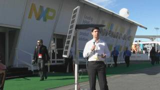 Solar Street Lighting Solution at CES 2012