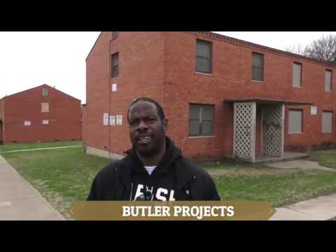 FORT WORTH TEXAS HOUSING PROJECTS & INTERVIEW WITH RESIDENT
