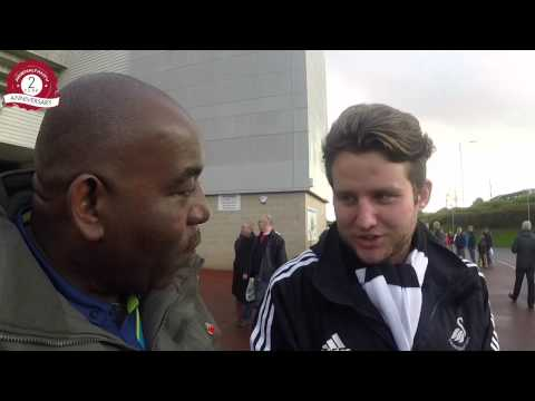 Swansea v Arsenal - Fans Pre Match Predictions from The Liberty Stadium
