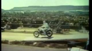 Evel Knievel 19-car motorcycle jump (world record for 27 years)