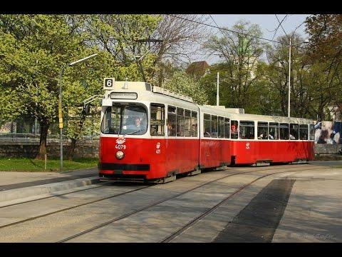Trams in Vienna, Austria, 2016 - Wiener Straßenbahn 2016