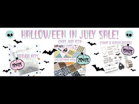 HALLOWEEN IN JULY SALE AT PAPERCAKES! | Serena Bee Creative