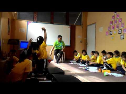วิดีโอการสอน เพลงสรรเสริญพระบารมีและเพลงประจำโรงเรียน