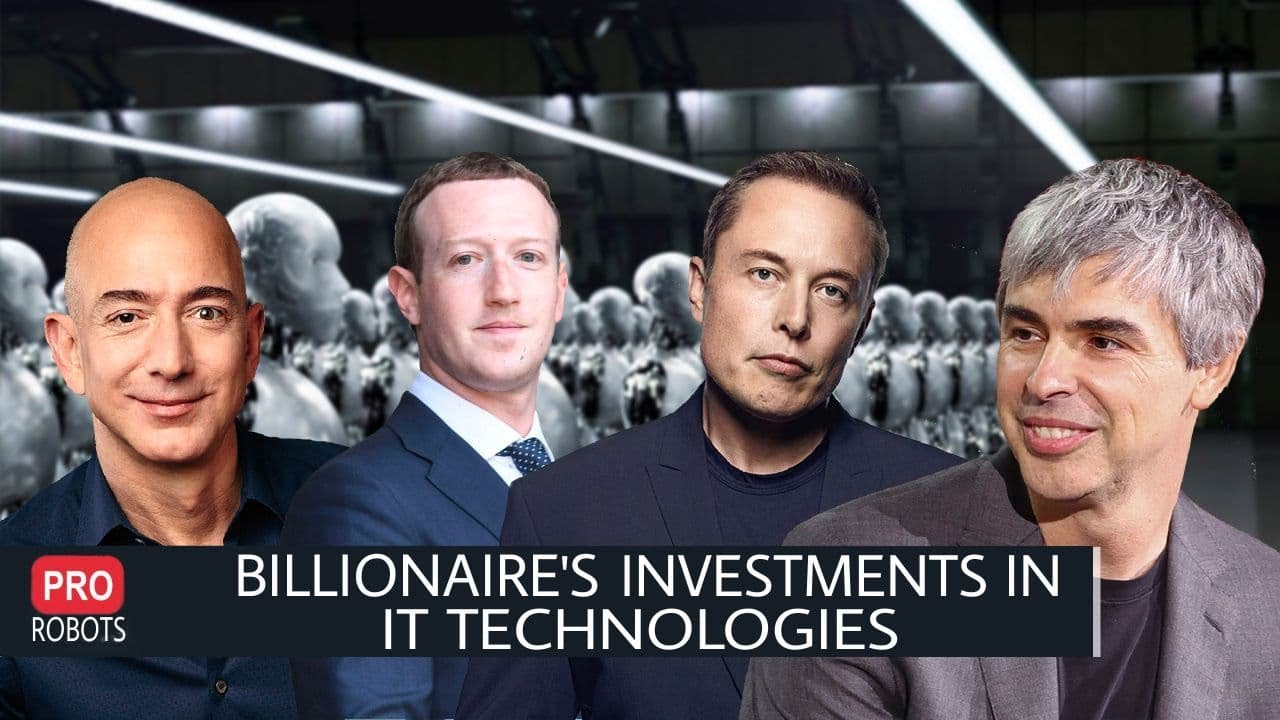 What Technologies do IT Billionaires invest in?