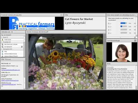 Cut Flower Production - Farminar