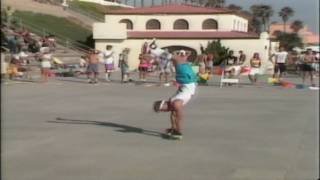 Jim McCall - Freestyle Contest Oceanside 1986