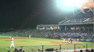 中華隊 外野長傳本壘助殺 Laser Beam(2011 MLB★全明星臺灣大賽 )