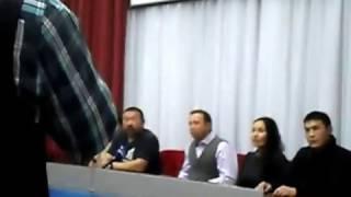 321 -я Сибирская .Георгий Дронов, Солбон Лыгденов. Встреча в БайкалБизнесЦентре.