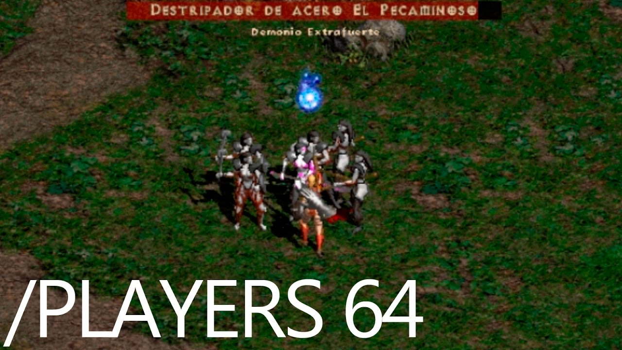Diablo 2 - Ultra Hard secret difficulty (Players 64-32-16) - YouTube