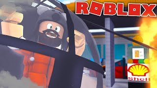 ROBBING A GAS STATION + OVER $1.5 MILLION!?!?! | Jailbreak | ROBLOX