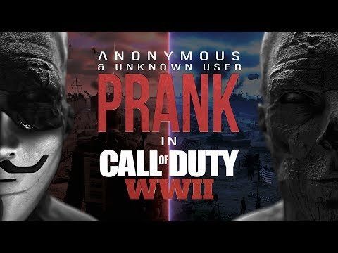 ANONYMOUS PRANK + UNKNOWN USER in Call of Duty: WWII | Ep.7 (prod. by Austrian)