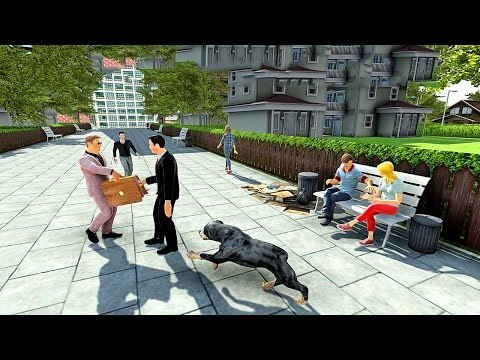 Rottweiler Police Dog Life Sim (by Nation Games 3D) Android Gameplay [HD]