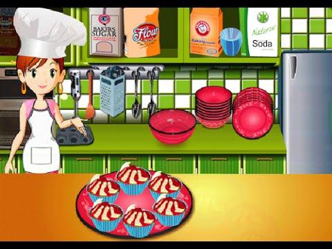 Magdalenas con cerezas juegos de cocinar youtube for Cocinar con 40 pesos
