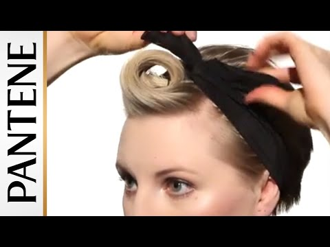 Pompadour Pin Up Pixie Cut Hairstyles For Short Hair Youtube