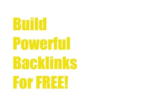 How to Build Quality Backlinks | Without Getting Penalized! (2017) FREE!