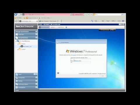 Citrix XenClient Enterprise Synchronizer Quick Preview