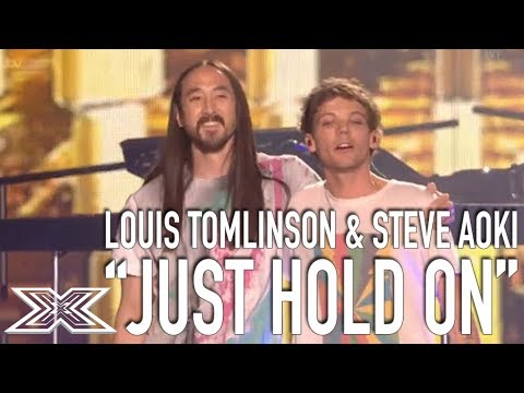 Louis Tomlinson & Steve Aoki Perform Just Hold on! | The X Factor Global