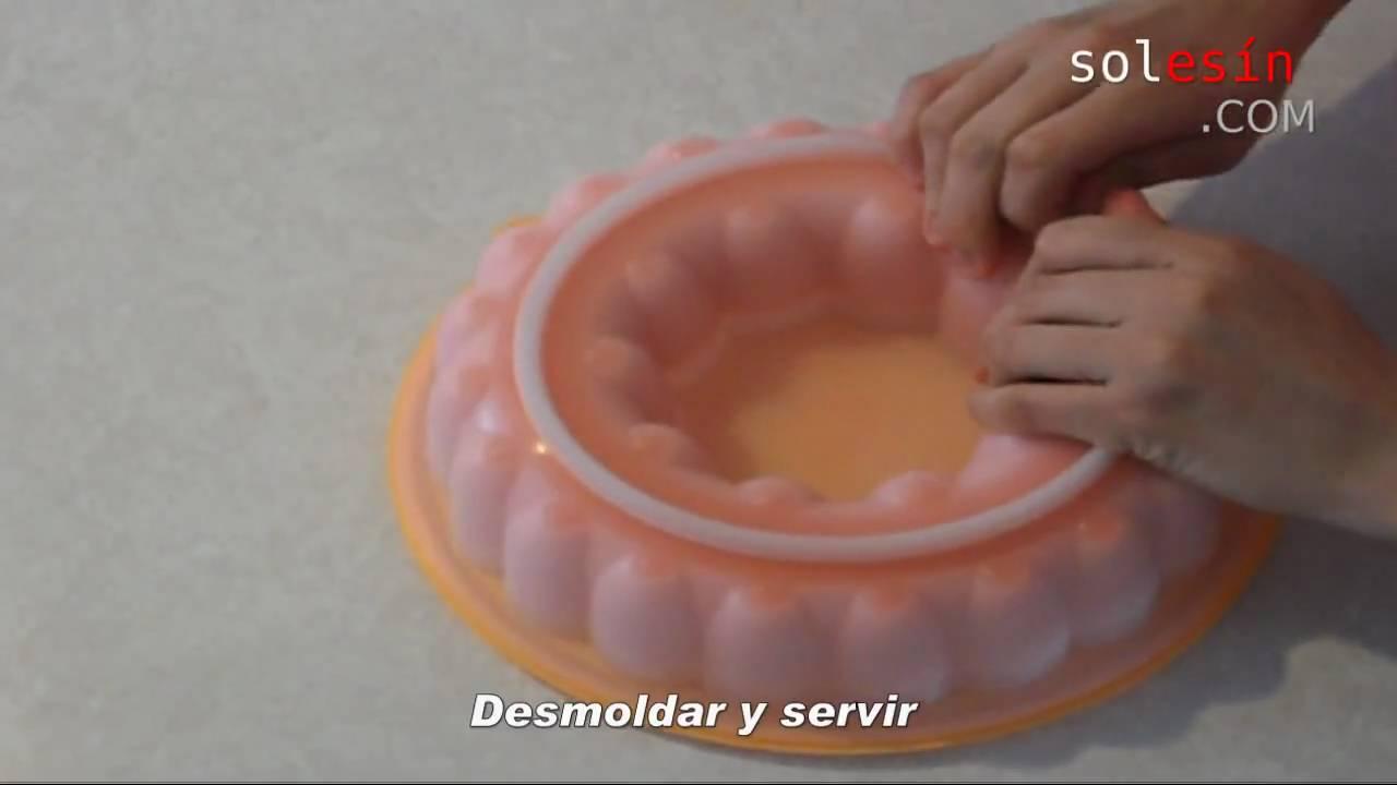 Gelatina de leche youtube - Gelatina leche condensada ...