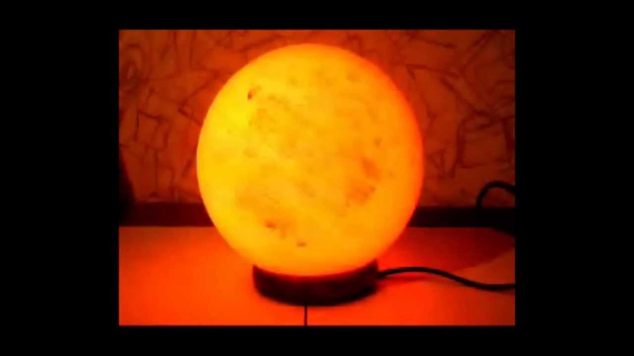 Соляная (солевая) лампа