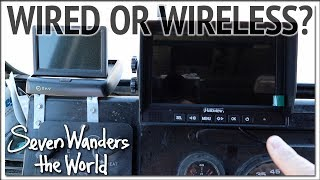 Esky vs Haloview Backup Camera Comparison E470