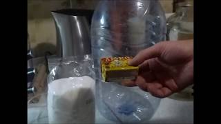 Приготовление самогона от А до Я. часть I Как поставить брагу из сахара